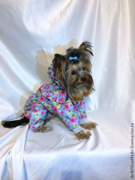 Одежда для собак, ручной работы. Ярмарка Мастеров - ручная работа. Купить Одуванчик- весенний комбинезон для Вашего любимца. Handmade. Ярко