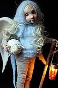 Куклы и игрушки ручной работы. Ярмарка Мастеров - ручная работа Ангел-пастух. Handmade.