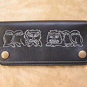 Сумки и аксессуары handmade. Livemaster - original item purse leather