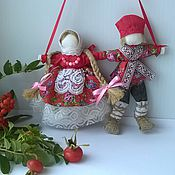 Куклы и игрушки handmade. Livemaster - original item Copy of Nerazluchniki Nezhnost wedding dolls. Handmade.