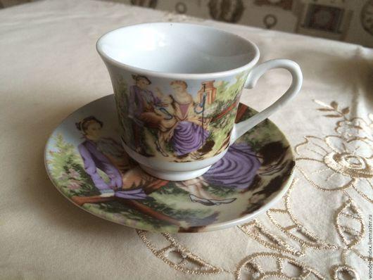 Сервизы, чайные пары ручной работы. Ярмарка Мастеров - ручная работа. Купить кофейные пары, Польша. Handmade. Комбинированный