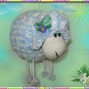 Куклы и игрушки ручной работы. Ярмарка Мастеров - ручная работа Овечка-подвеска. Handmade.