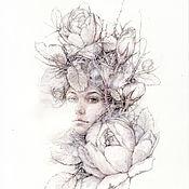 Картины и панно ручной работы. Ярмарка Мастеров - ручная работа Фея.(в частной коллекции). Handmade.