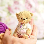 Куклы и игрушки ручной работы. Ярмарка Мастеров - ручная работа Мишка тедди.Крошка Кэт. Handmade.