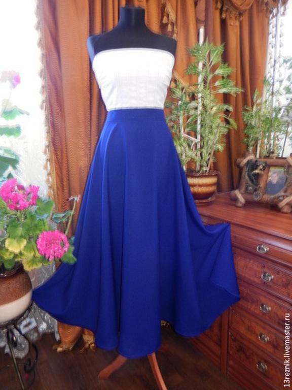 Сшить юбку для девочки на осень