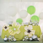 """Свадебный салон ручной работы. Ярмарка Мастеров - ручная работа Декор стола """"Волшебные цветы"""". Handmade."""