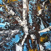 Картины и панно handmade. Livemaster - original item Abstraction buy a painting from the artist in Minsk, 60H80. Handmade.