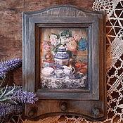 Для дома и интерьера ручной работы. Ярмарка Мастеров - ручная работа Вешалка для кухни. Handmade.