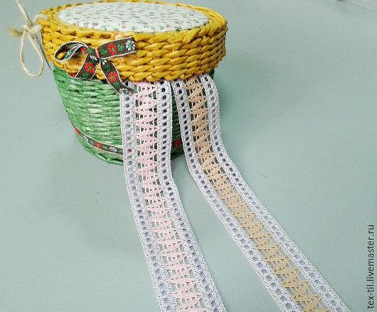 Шитье ручной работы. Ярмарка Мастеров - ручная работа. Купить Тесьма декоративная вязанная. Handmade. Комбинированный, тесьма для шитья