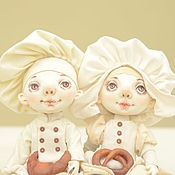 Куклы и игрушки handmade. Livemaster - original item the keepers of the culinary secrets and flavors of homemade cakes. Handmade.