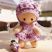 Куклы и игрушки ручной работы. Ярмарка Мастеров - ручная работа Пупсик вязаный Сиренька. Handmade.