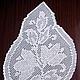"""Текстиль, ковры ручной работы. Дорожка вязаная крючком """"Любимая"""". 'Кружевной дом' Мария. Ярмарка Мастеров. Текстиль для дома, столовая"""