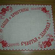 Для дома и интерьера ручной работы. Ярмарка Мастеров - ручная работа салфетка подарочная. Handmade.