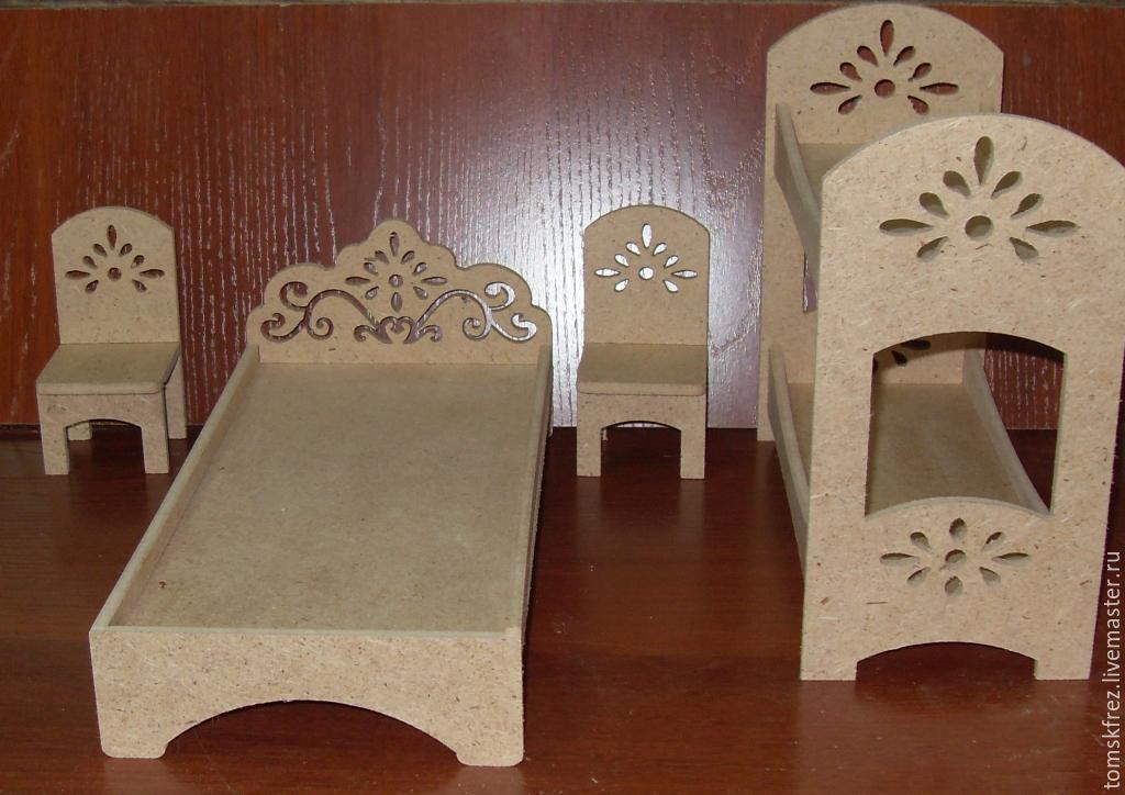 Декупаж заготовки мебель