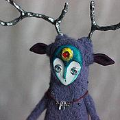 Куклы и пупсы ручной работы. Ярмарка Мастеров - ручная работа Валяная кукла Kiyoshi - Тихий. Сказочное существо. Handmade.