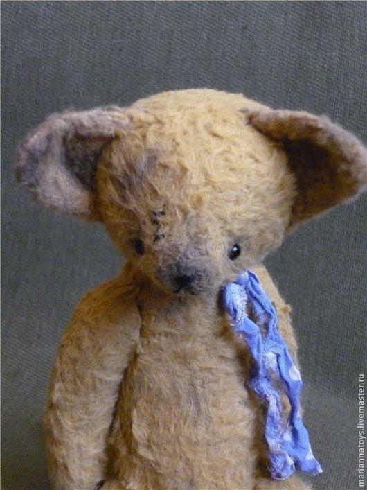 Мишки Тедди ручной работы. Ярмарка Мастеров - ручная работа. Купить лисёнок Фенек. Handmade. Оливковый, медведь, гранулят