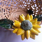 Для дома и интерьера handmade. Livemaster - original item Vase for fruit