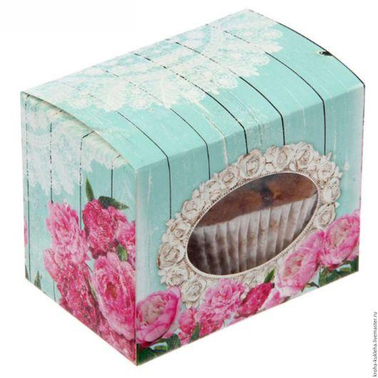 """Упаковка ручной работы. Ярмарка Мастеров - ручная работа. Купить Коробка для сладостей """"Шебби шик"""". Handmade. Розовый, шкатулка для рукоделия"""