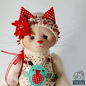 Куклы и игрушки ручной работы. Ярмарка Мастеров - ручная работа Кошечка Cynthia. Handmade.