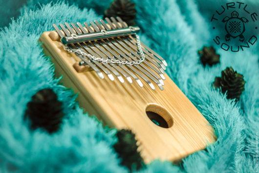 Ударные инструменты ручной работы. Ярмарка Мастеров - ручная работа. Купить Калимба 12 язычков, пентатоника Ake Bono. Handmade.