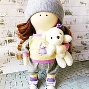 Куклы Тильда ручной работы. Ярмарка Мастеров - ручная работа Текстильная интерьерная кукла.. Handmade.