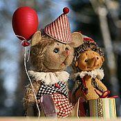 Куклы и игрушки ручной работы. Ярмарка Мастеров - ручная работа Тусик и Кукусик. Handmade.