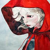 Картины и панно ручной работы. Ярмарка Мастеров - ручная работа Красная шапочка. Handmade.