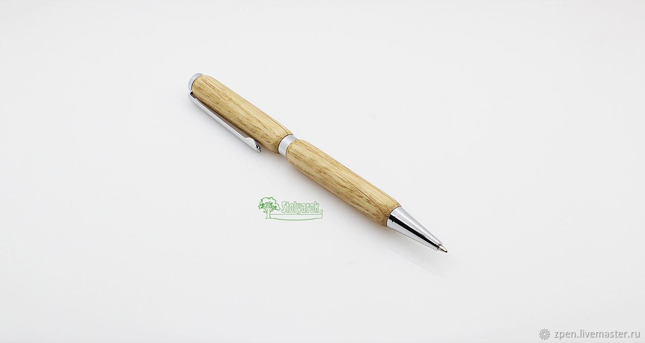 Ручка шариковая Stolyarok Organic, дуб, Ручки, Саранск,  Фото №1