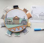 Материалы для творчества handmade. Livemaster - original item The scheme for embroidery stitch