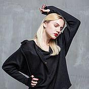 Одежда handmade. Livemaster - original item GGA_027 Blouson black Metanet/black. Handmade.
