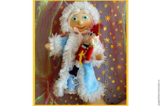 """Кукольный театр ручной работы. Ярмарка Мастеров - ручная работа. Купить Кукла-перчатка Мари """"Щелкунчик и мышиный король"""". Handmade."""