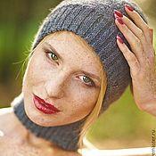 Аксессуары ручной работы. Ярмарка Мастеров - ручная работа Шапка - шарф. Handmade.