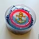Сувенирное мыло `Якорь` в подарочной коробочке. Цена 190 руб.