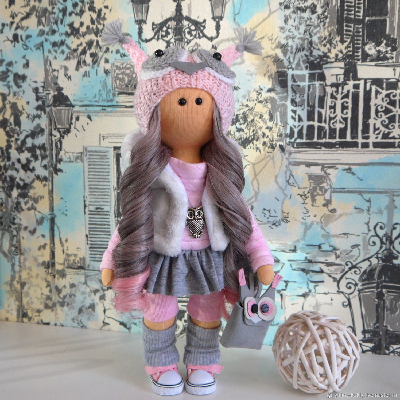 Текстильная куколка- малышка Совёнок, Большеножка, Санкт-Петербург,  Фото №1