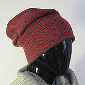 Аксессуары ручной работы. Ярмарка Мастеров - ручная работа шапка бини кельты. Handmade.