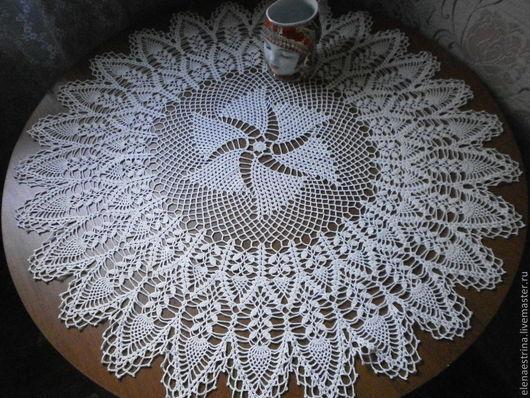 """Текстиль, ковры ручной работы. Ярмарка Мастеров - ручная работа. Купить Скатерть - салфетка, 88 см, """"Птица счастья"""". Handmade."""