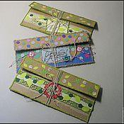 Открытки ручной работы. Ярмарка Мастеров - ручная работа Конверты ручной работы из крафт-бумаги. Handmade.