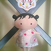 Куклы и игрушки ручной работы. Ярмарка Мастеров - ручная работа Кицунэ. Handmade.