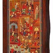 Нарды, шашки ручной работы. Ярмарка Мастеров - ручная работа Нарды, шашки Восточный базар (15948). Handmade.
