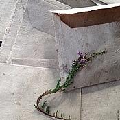 Канцелярские товары handmade. Livemaster - original item Envelopes of cattail handmade. Handmade.