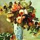 """Картины цветов ручной работы. Ярмарка Мастеров - ручная работа. Купить Букет """"французский стиль"""" - картина маслом на холсте. Handmade."""