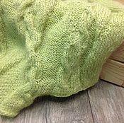 """Одежда ручной работы. Ярмарка Мастеров - ручная работа Жилет,безрукавка """"Молодая зелень"""". Handmade."""