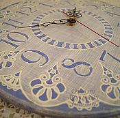 """Для дома и интерьера ручной работы. Ярмарка Мастеров - ручная работа Часы """"Кружево"""". Handmade."""