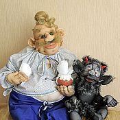 Куклы и игрушки ручной работы. Ярмарка Мастеров - ручная работа Пузатый Пацюк из произведения Н.В.Гоголя. Handmade.