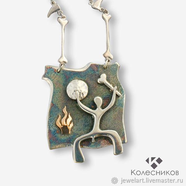 The suspension is 'shaman', Necklace, Yaroslavl,  Фото №1