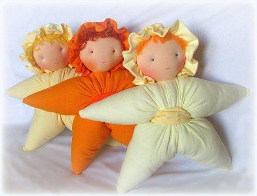Вальдорфская игрушка ручной работы. Ярмарка Мастеров - ручная работа. Купить кукла-звезда 38-40см. Handmade. Вальдорфская игрушка