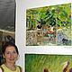 На выставке `Творческие среды`