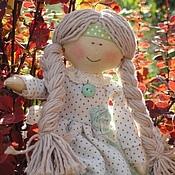 """Куклы и игрушки ручной работы. Ярмарка Мастеров - ручная работа Кукла текстильная """"Девушка Миланья"""". Handmade."""