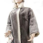 Одежда ручной работы. Ярмарка Мастеров - ручная работа Шуба нерпа серебристая Шик норвежская красота практичность тепло мех. Handmade.