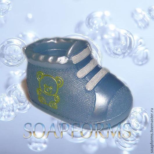 """Силиконовая форма для мыла """"Ботиночек детский""""\r\nФормы для мыла (soapforms)"""